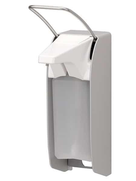 Seifen- und Desinfektionsmittelspender 500 ml aus Edelstahl