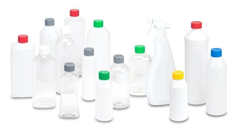 Flaschen und Dosen - Verpackungen für Kleinabfüllungen